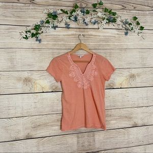 Lucky Brand Orange T-Shirt